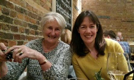 'My visit had a lasting impact on me' ... Suzanne Barkham with her daughter Henrietta.