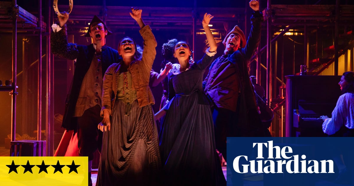 Gin Craze! review – raucous fun with a dark chaser