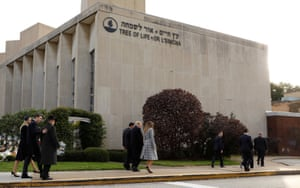 The synagogue in Pittsburgh.