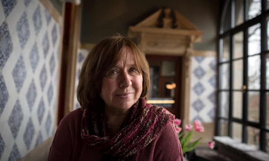 Svetlana Alexievich, whose book Second-Hand Time has won the TA first translation prize for translator Bela Shayevich and editor Jacques Testard.