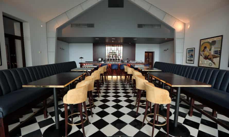 Harland Bar, Titanic Hotel, Belfast