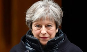 Theresa May leaves 10 Downing Street this week