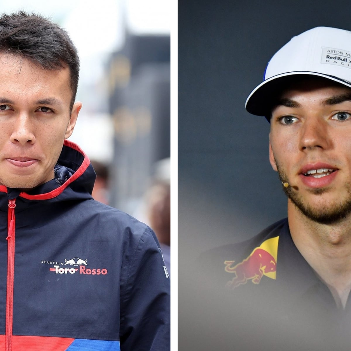 Red Bull promote Alexander Albon to replace Pierre Gasly for rest of F1  season   Sport