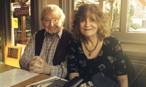 'The heart of my life' … Alison and Peter Gordon. Peter wrote a poem for Alison every day since the early 1990s until her death in 2016