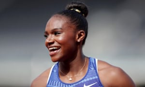 Dina Asher-Smith has been consistent this season, running under 11sec in all four of her 100m races.
