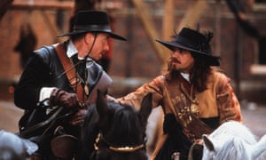 Tim Roth as Oliver Cromwell, left, and Dougray Scott as Thomas Fairfax in the 2003 film To Kill a King. Photograph: Laurie Sparham/Pathé