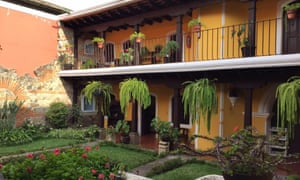 Hotel Posada San Pedro, Antigua.