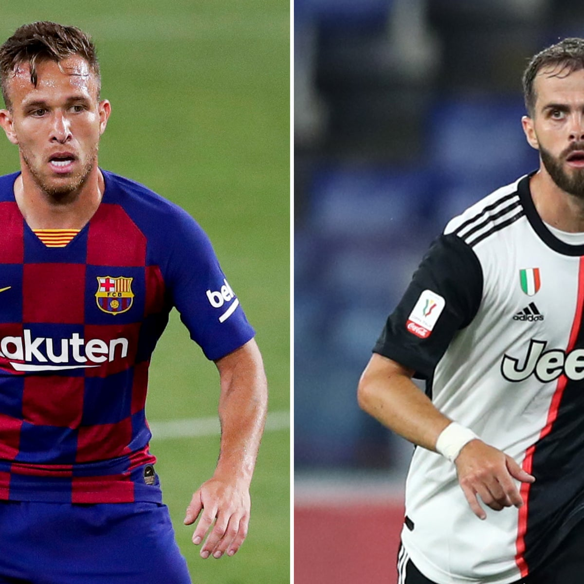 Barcelona Exchange Arthur For Miralem Pjanic In Deal With Juventus European Club Football The Guardian