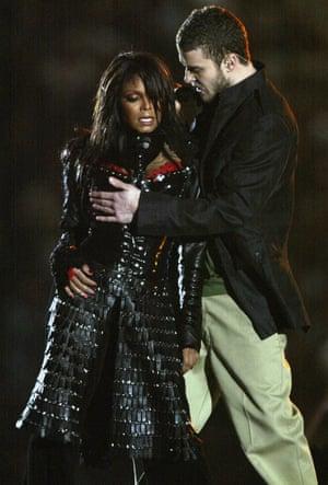 Janet Jackson and Justin Timberlake.