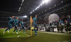 Cristiano Ronaldo's team-mates marvel at his brilliance while he accepts the acclaim from both sets of fans.