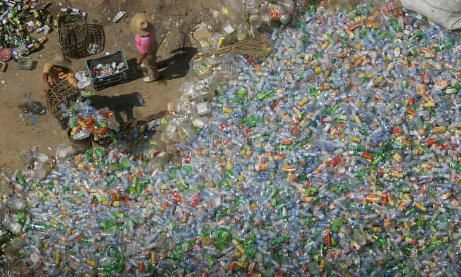 Plastic recycling plant in Beijing