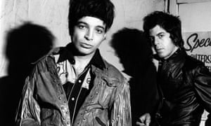 SUICIDE; Alan Vega and Martin Rev