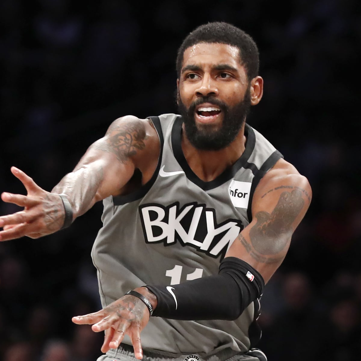 Brooklyn Nets Kyrie Irving Loses Nearly 1m For Covid Protocol Violations Brooklyn Nets The Guardian