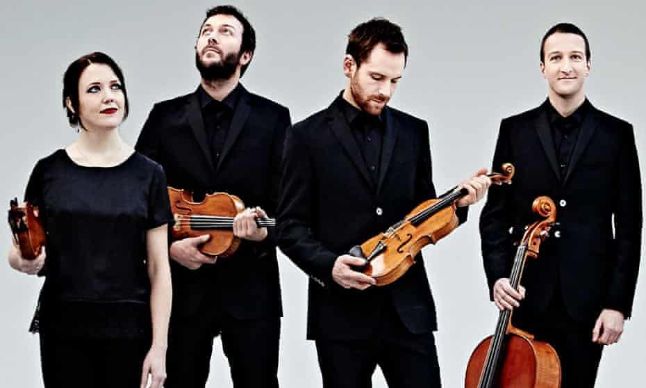 the Heath Quartet