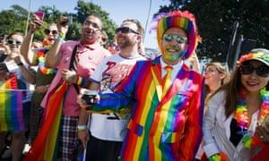 Celebrating Pride in Brighton in 2016