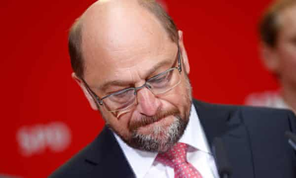 Martin Schulz on Sunday.