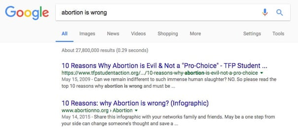 How Google's search algorithm spreads false information with