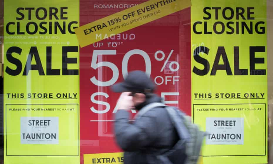 The BRC warned Philip Hammond that the high street needs a 'fundamental reform' of business rates.