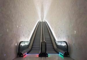 Like Giza masterminded by Liberace … the main entrance.