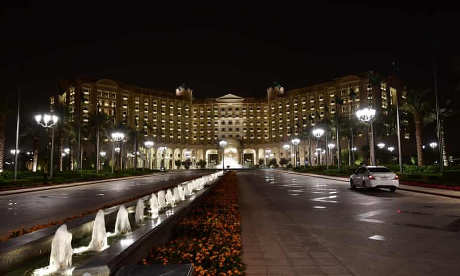 Ritz-Carlton hotel in the Saudi capital Riyadh.