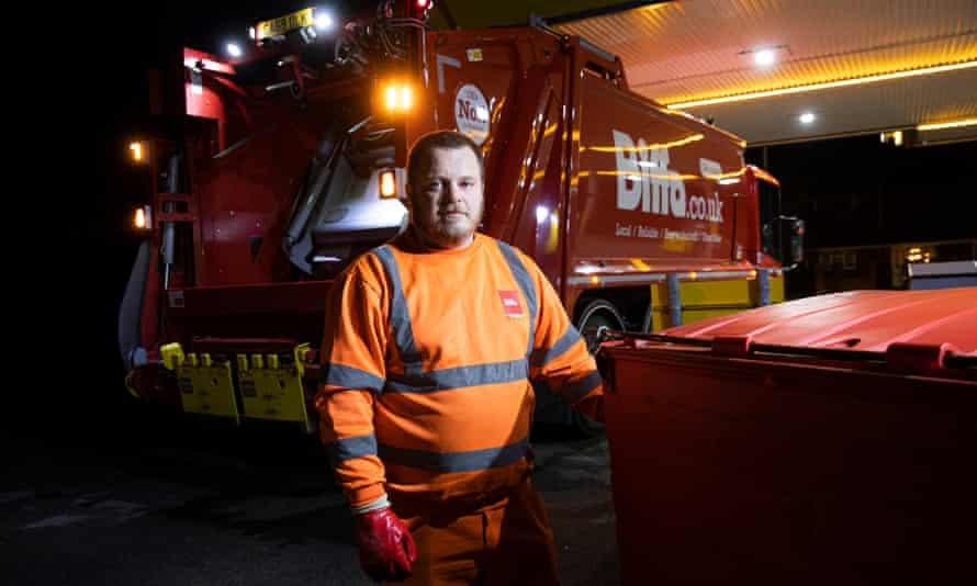 Biffa foreman and driver Glynn Corker warned of the importance of remaining alert.