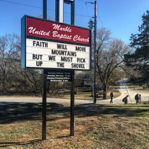 Marble United Baptist church, Arkansas