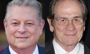 Al Gore and Tommy Lee Jones