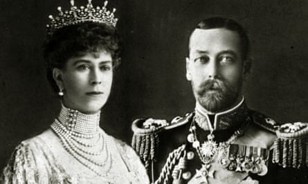 King George V with his Consort Queen Mary circa 1911.