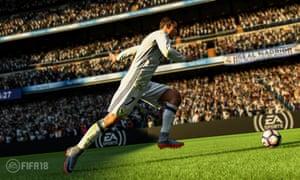 Cristiano Ronaldo in Fifa 18.