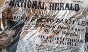 One of the 1966 newspapers found at the Bossons glacier near Chamonix in the French Alps