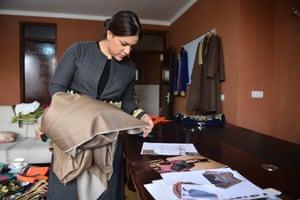 Rahiba Rahimi in her office.