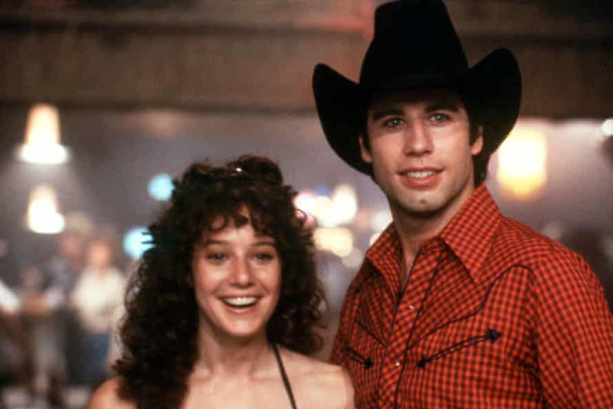 Debra Winger and John Travolta in Urban Cowboy.