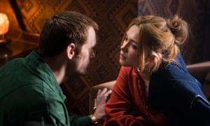 Becker (Alexander Skarsgård) and Charlie (Florence Pugh).