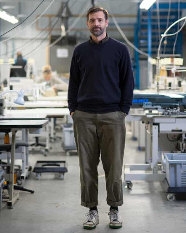 Designer Patrick Grant.