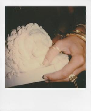 The NewGen designers were photographed on Polaroid Original One Step+ camera.