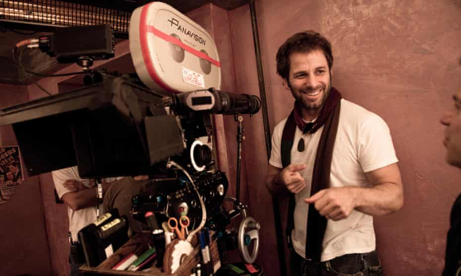 Zack Snyder during the filming of Sucker Punch in 2009.