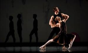 Luke Ingham and Sarah Van Patten in the Shostakovich Trilogy.