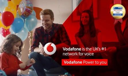 Vodafone ad