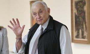 Les Wexner in Columbus, Ohio, on 19 September 2014.