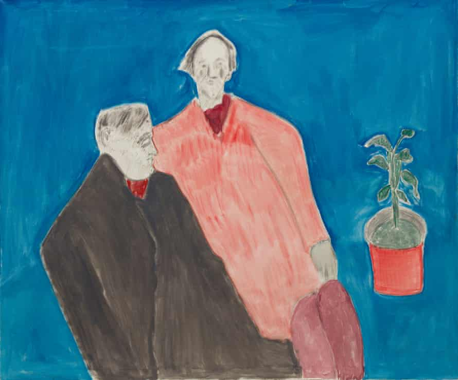 Milton Avery's Two Poets, 1963.