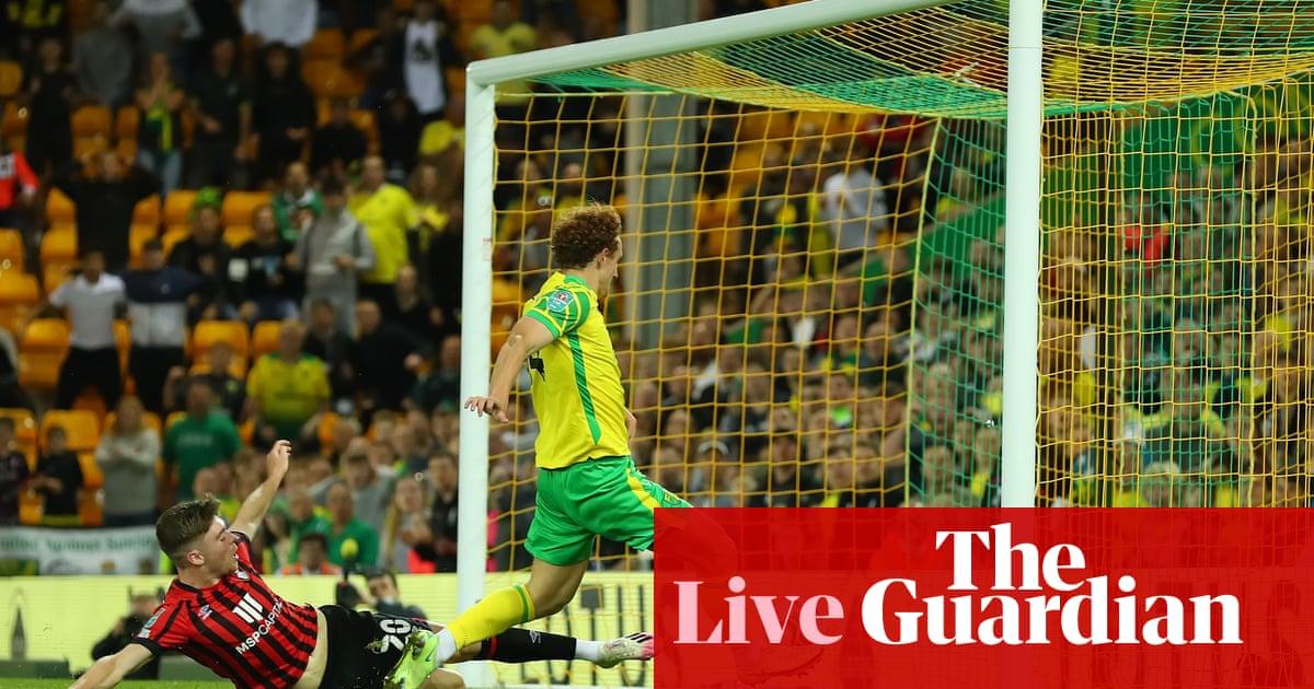 Carabao Cup clockwatch: Barrow v Aston Villa, Leeds v Crewe – live!