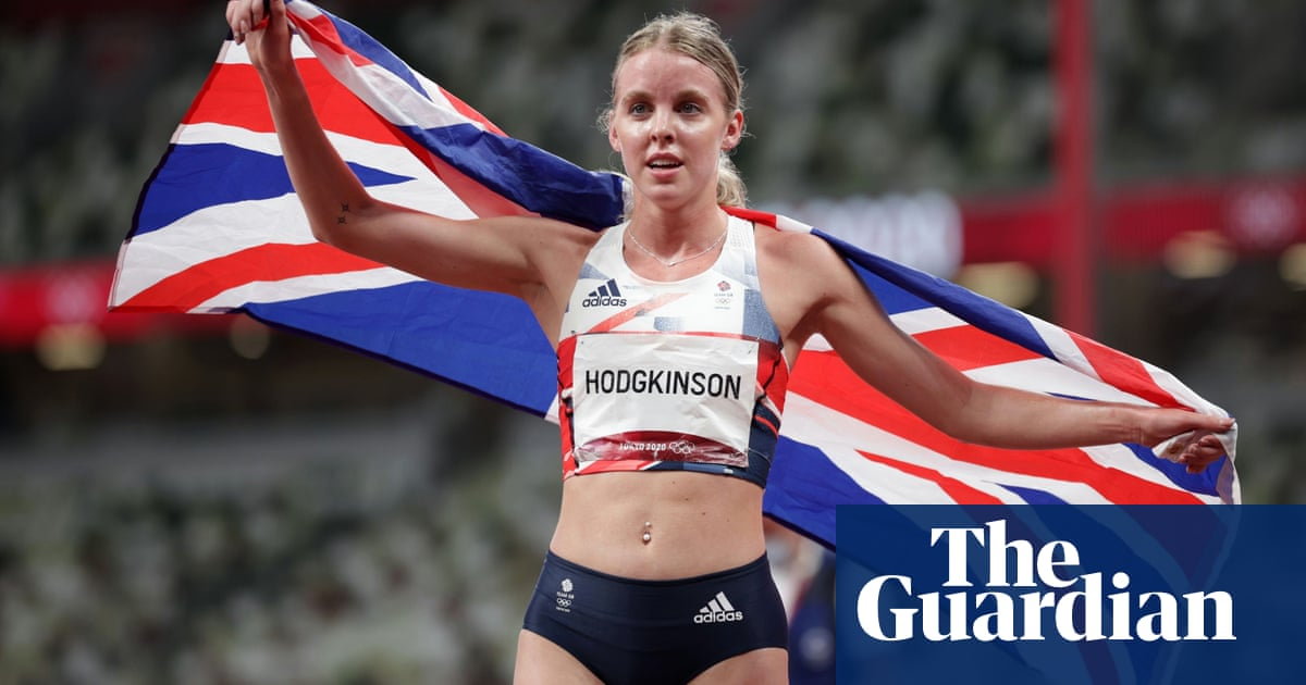 Keely Hodgkinson wins GB's first track medal in day of thrills and drama