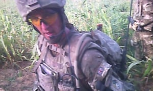 MoD still of Alexander Blackman, who is serving life for the murder of the injured man. An appeal hearing is due to take place next week.