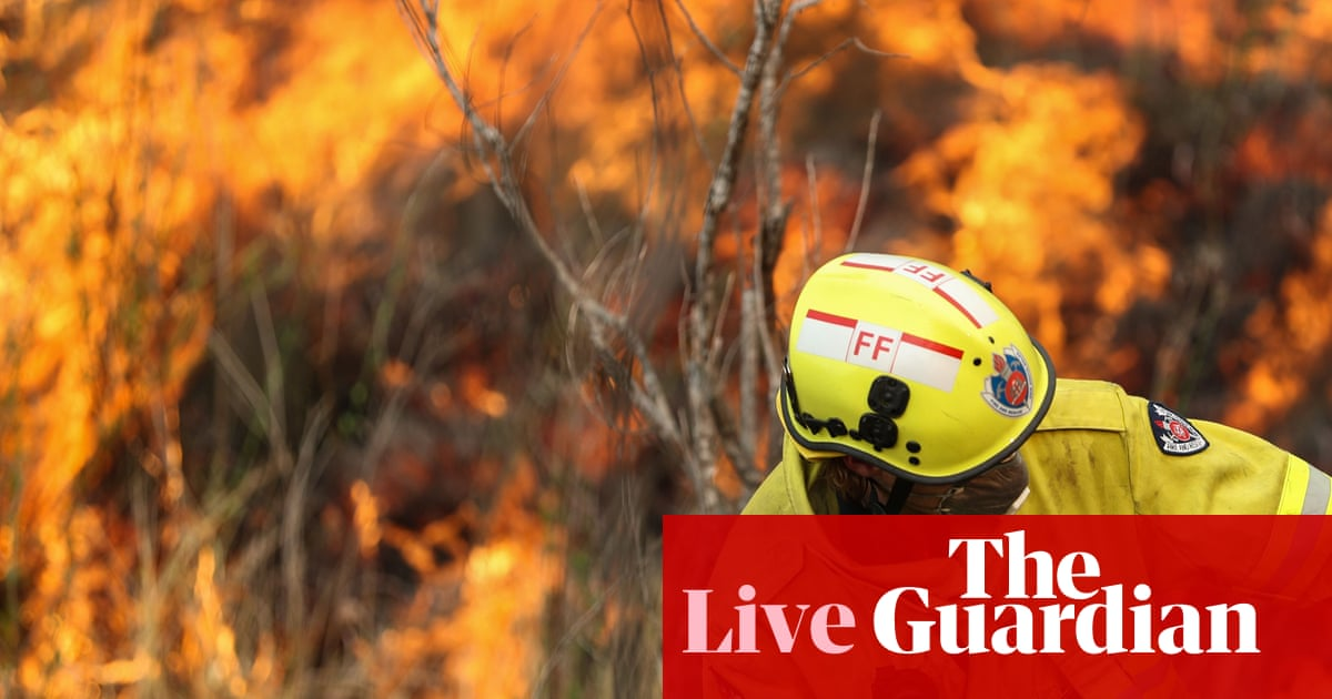 NSW and Qld fires: four emergency warnings issued for out-of-control bushfires – live | Australia news | The Guardian