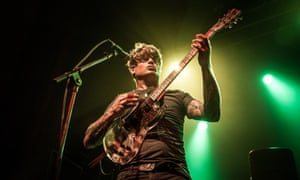 John Dwyer of Thee Oh Sees at London's Coronet.