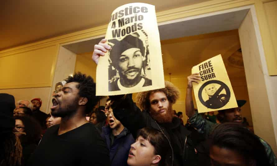 San Francisco coroner's report showed that Mario Woods had 20 gunshot wounds, some of which could have been from the same bullet.