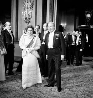 With Edward Heath in 1973