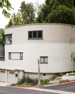 The curved streamline facade.