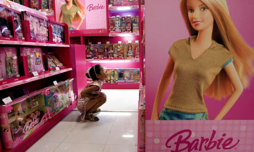 Barbie doll sales have fallen for the eighth straight quarter.