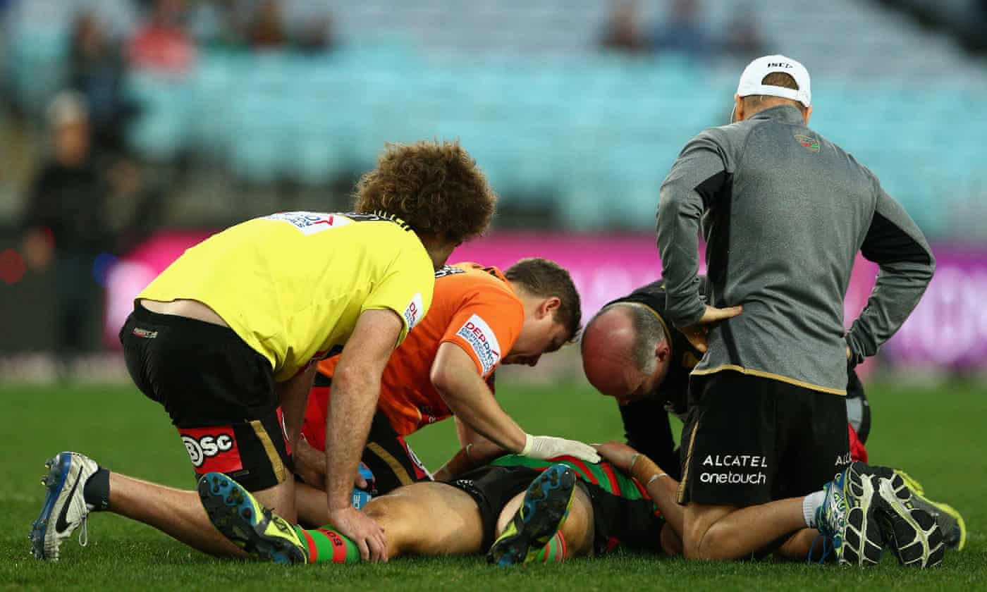 Concussion in sport: brain disease found in two former NRL players